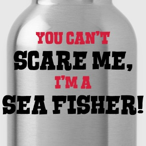 sea fisher cant scare me - Water Bottle