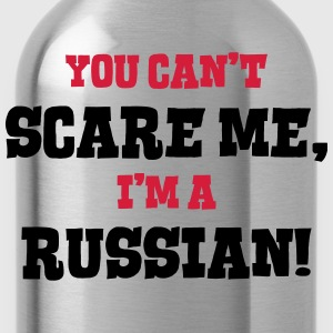 russian cant scare me - Water Bottle