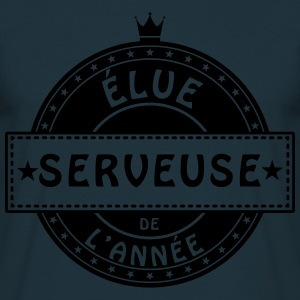 elue serveuse bar restaurant Tabliers - T-shirt Homme