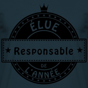 elue responsable cadre manager coach Tabliers - T-shirt Homme