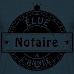elue notaire Tabliers - T-shirt Homme