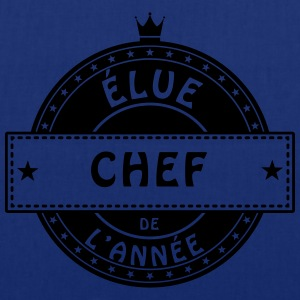 elue chef patronne chef responsable Tabliers - Tote Bag