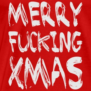 MERRY FUCKING XMAS Tops - Männer Premium T-Shirt