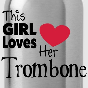 This Girl Loves Her Trombone Camisetas - Cantimplora