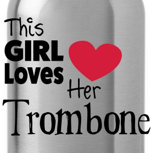 This Girl Loves Her Trombone Magliette - Borraccia