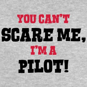 pilot cant scare me - Men's Sweatshirt by Stanley & Stella