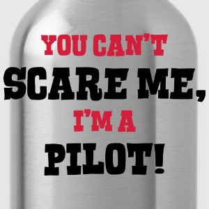 pilot cant scare me - Water Bottle