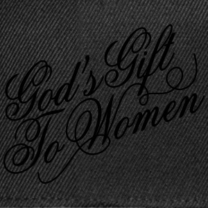 Gods gift to women 2 T-Shirts - Snapback Cap