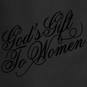 Gods gift to women 2 T-shirts - Forklæde