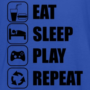 Eat,sleep,play,repeat - Naisten tankkitoppi Bellalta