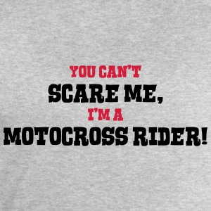 motocross rider cant scare me - Men's Sweatshirt by Stanley & Stella