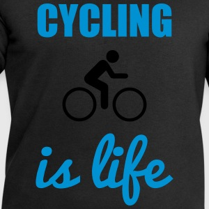 Cycling is life  - Men's Sweatshirt by Stanley & Stella