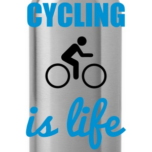 Cycling is life  - Water Bottle