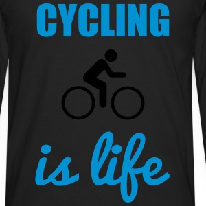 Cycling is life  - Men's Premium Longsleeve Shirt