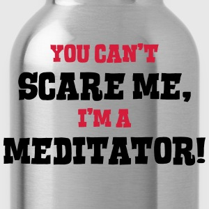 meditator cant scare me - Water Bottle
