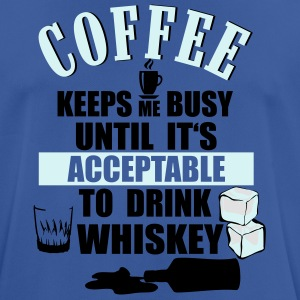Coffee and whiskey Mugs & Drinkware - Men's Breathable T-Shirt