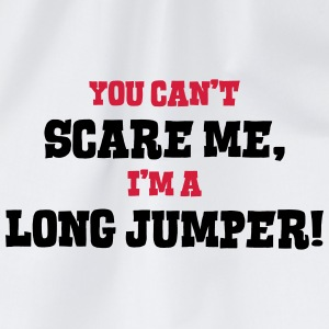 long jumper cant scare me - Drawstring Bag