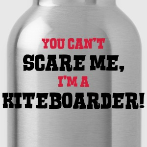 kiteboarder cant scare me - Water Bottle