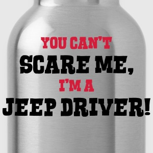 jeep driver cant scare me - Water Bottle