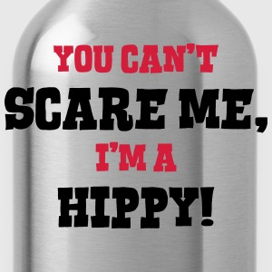 hippy cant scare me - Water Bottle