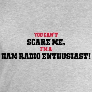 ham radio enthusiast cant scare me - Men's Sweatshirt by Stanley & Stella