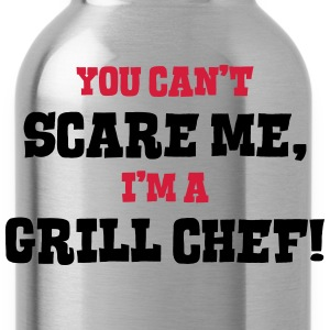 grill chef cant scare me - Water Bottle