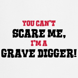 grave digger cant scare me - Cooking Apron