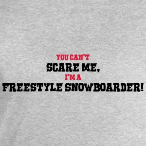 freestyle snowboarder cant scare me - Men's Sweatshirt by Stanley & Stella