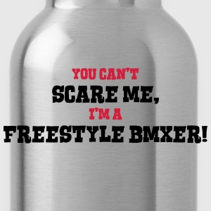 freestyle bmxer cant scare me - Water Bottle