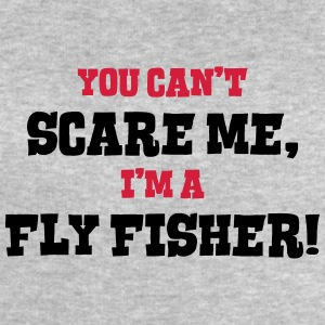fly fisher cant scare me - Men's Sweatshirt by Stanley & Stella