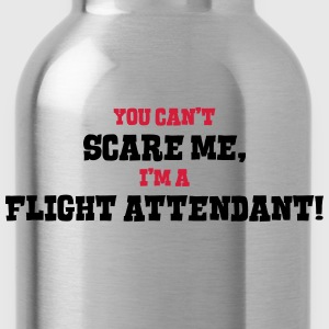 flight attendant cant scare me - Water Bottle
