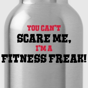 fitness freak cant scare me - Water Bottle