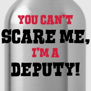 deputy cant scare me - Water Bottle