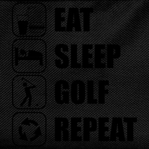Eat,sleep,play,golf repeat Golf t-shirt  - Kinder Rucksack