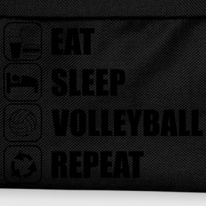 Eat sleep,play,volleyball repeat Volley T-shirt  - Kinder Rucksack