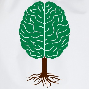 Brain tree - Drawstring Bag