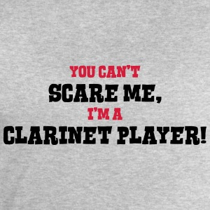clarinet player cant scare me - Men's Sweatshirt by Stanley & Stella