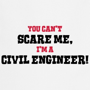 civil engineer cant scare me - Cooking Apron