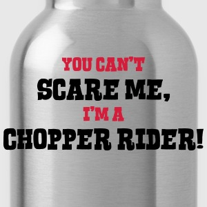 chopper rider cant scare me - Water Bottle