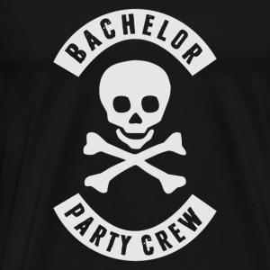 BACHELOR PARTY CREW PATCH Langarmshirts - Männer Premium T-Shirt