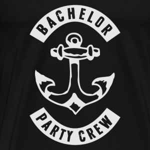 BACHELOR PARTY CREW PATCH Pullover & Hoodies - Männer Premium T-Shirt