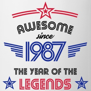 Awesome since 1987 T-Shirts - Tasse