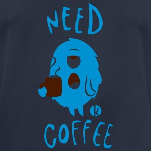 Need Coffee Monster (2c) Pullover & Hoodies - Männer T-Shirt atmungsaktiv