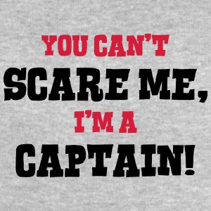 captain cant scare me - Men's Sweatshirt by Stanley & Stella