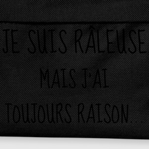 Râleuse - Raleuse - Citation - Humour - Comique Tee shirts - Sac à dos Enfant