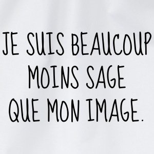 Sage - Citation - Humour - Comique - Fun - Drôle Tee shirts - Sac de sport léger