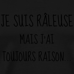Râleuse - Raleuse - Citation - Humour - Comique Tabliers - T-shirt Premium Homme