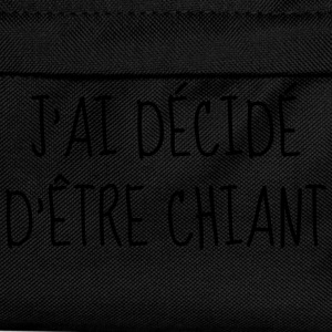 Chiant - Citation - Humour - Comique - Fun Bodys Bébés - Sac à dos Enfant