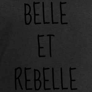 Belle et Rebelle - Citation - Humour - Comique Tee shirts - Sweat-shirt Homme Stanley & Stella