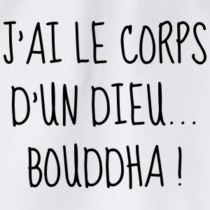 Bouddha - Gros - Grosse - Citation - Humour - Fun Tee shirts - Sac de sport léger
